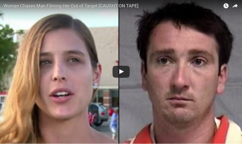 Woman Captures Convicted Voyeur On VIDEO And Chases Him Out Of Florida Target