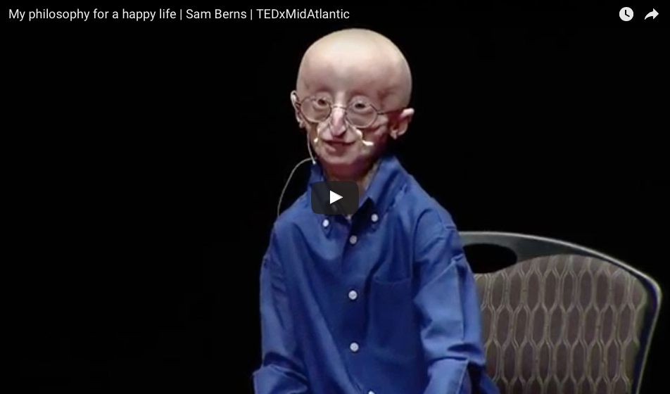 [WATCH] My Philosophy For A Happy Life | Sam Berns' Viral Description
