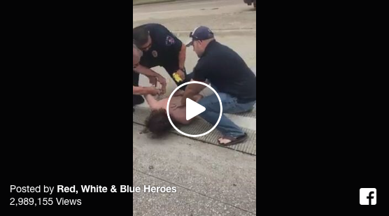 [VIDEO] Sometimes Citizens FIGHT With Law Enforcement Rather Than Against Them