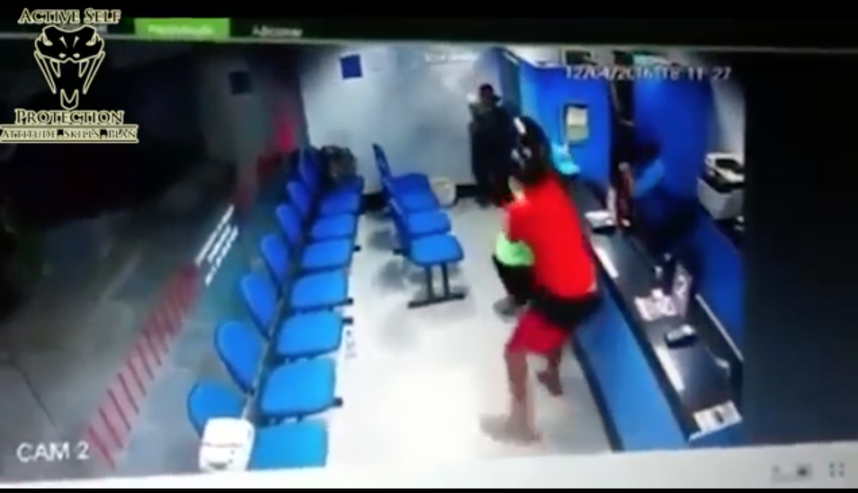 [VIDEO] Off-duty Officer Learns A Lesson About 'Reloading' In Shootout With Armed Robbers