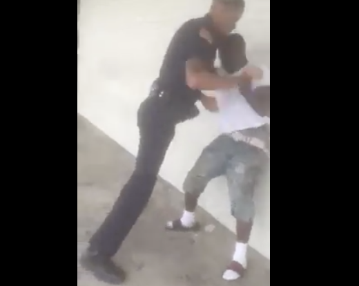 [VIDEO] Did This Police Officer Go Too Far When Defiant Teen Resisted Arrest?