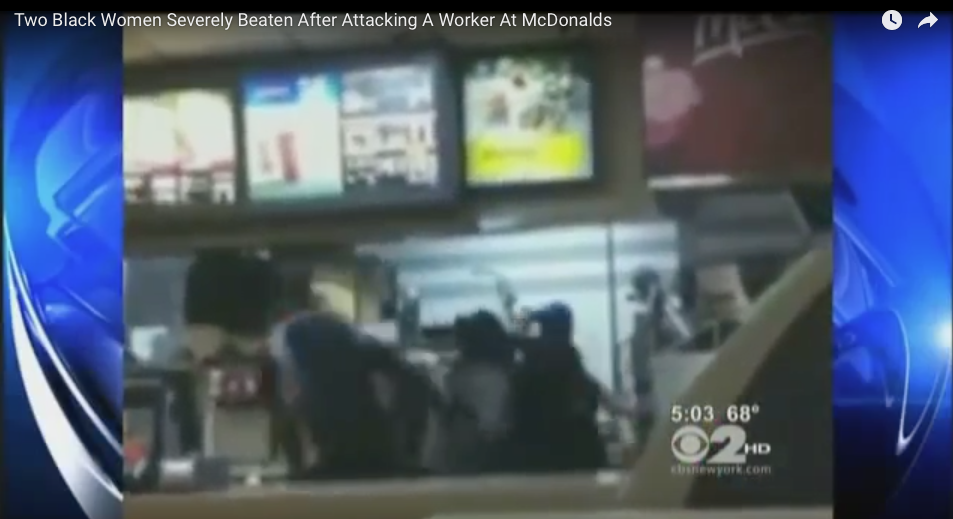 Did These Two Drunk, Black Women Deserve The Beating After Jumping Fast Food Counter?