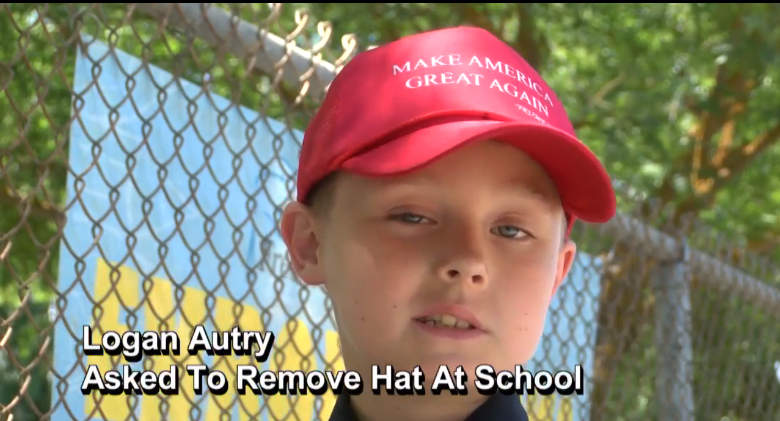 A Kid Told Not To Wear His 'Trump - Make America Great Again' Hat To School Got An Awesome Surprise