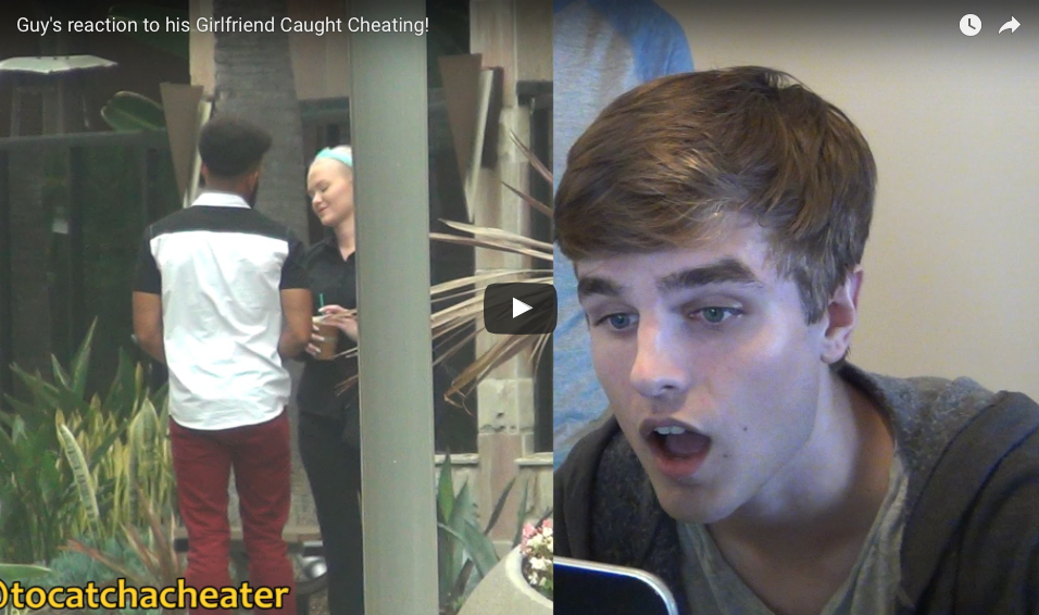 [WATCH] Guy's Reaction To His Girlfriend Caught Cheating