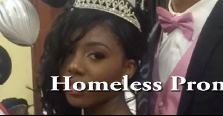 Homeless Prom Queen Finishes High School in 2 Years - Now Look What The Future Holds...