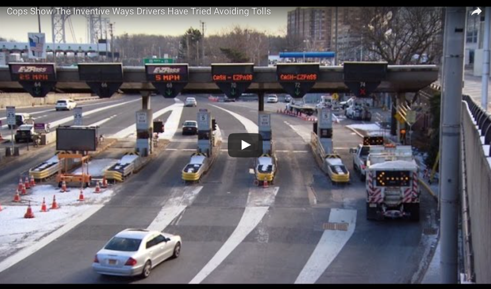[WATCH] Cops Show The Inventive Ways Drivers Have Tried Avoiding Tolls