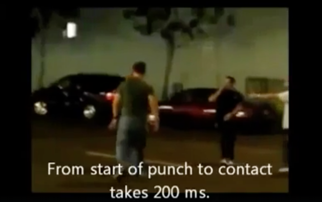 [VIDEO] How Much Time Do You Have To React To A Punch?