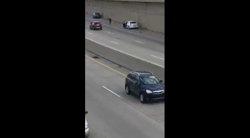 [WATCH] Good Samaritan Gets Shot At For Stopping To Lend A Hand
