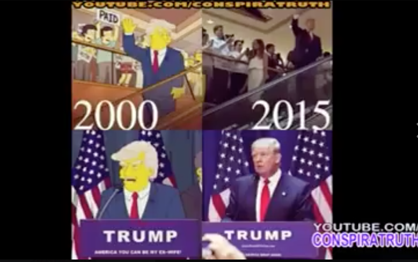 [WATCH] PROPHESY? 15-Year-Old Trump Video From The Simpsons Blew My Mind