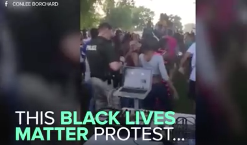 [WATCH] Black Lives Matter Protesters And Wichita Police CLASH Like We Have Never Seen Before
