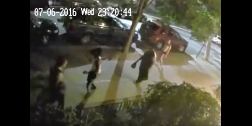 WATCH This Thug Sucker Punch A 65-Year-Old Man And Send Him Flying
