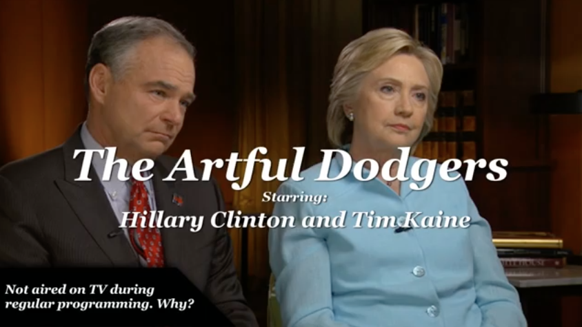 WATCH Clinton & Kaine Dodge Questions On Leaked DNC Emails
