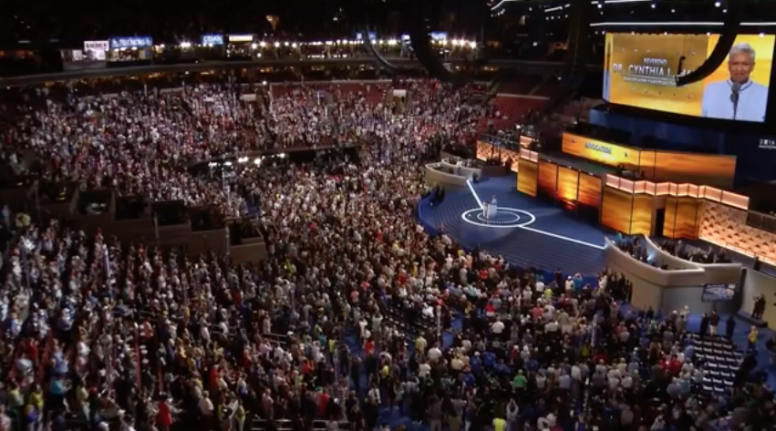 [WATCH] DNC Invocation BOOED When One Big Name Is Mentioned