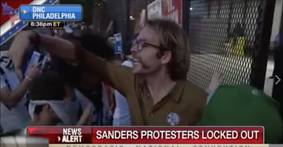 [WATCH] The Democrats Locked Out Bernie Sanders Supporters And They Are Livid!