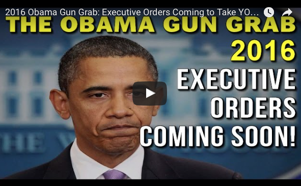 Obama's New Gun Control Executive Order Destroys Businesses, Ignores Checks & Balances