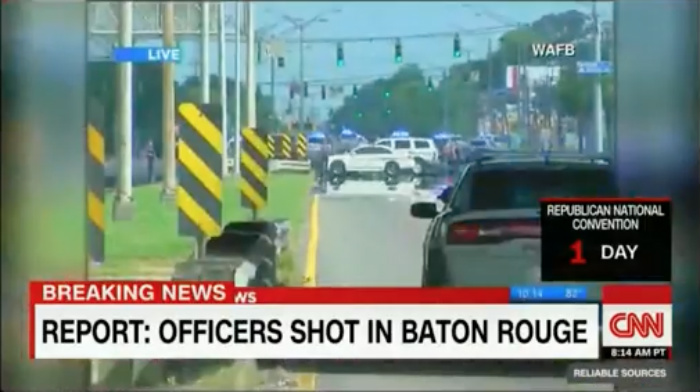 BREAKING! Multiple Baton Rouge Police Officers Down, Shooter Unknown, Scene Active