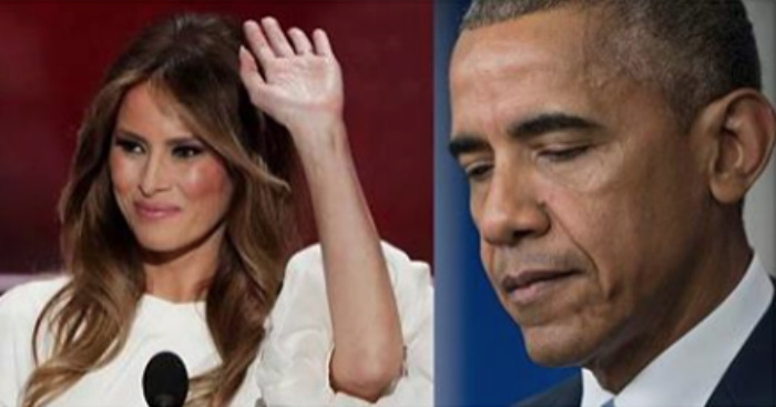 The Media Is Roasting Melania For Speech 'Plagiarism' While Hiding Pres. Obama's Past