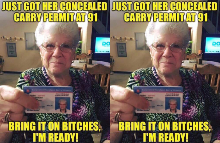 Armed Grandma: 'I Decided That It's Either Them or Me'