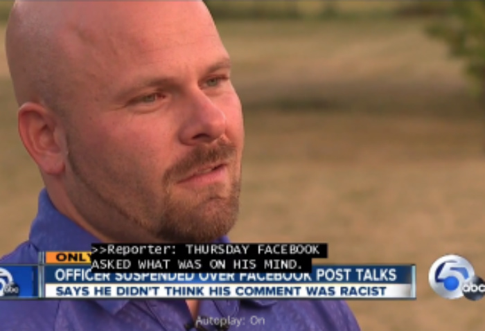 Cop Suspended For Complaining About 'Monkeys' On Facebook, Says He Isn't Racist