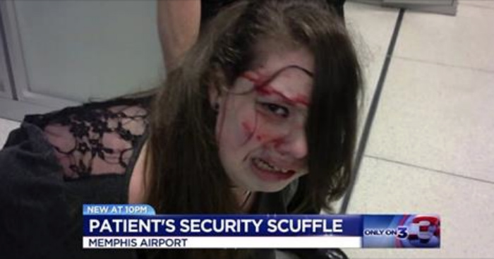 [VIDEO] Disabled St. Jude Patient Sues TSA And Airport After Unbelievable Bloody Scuffle