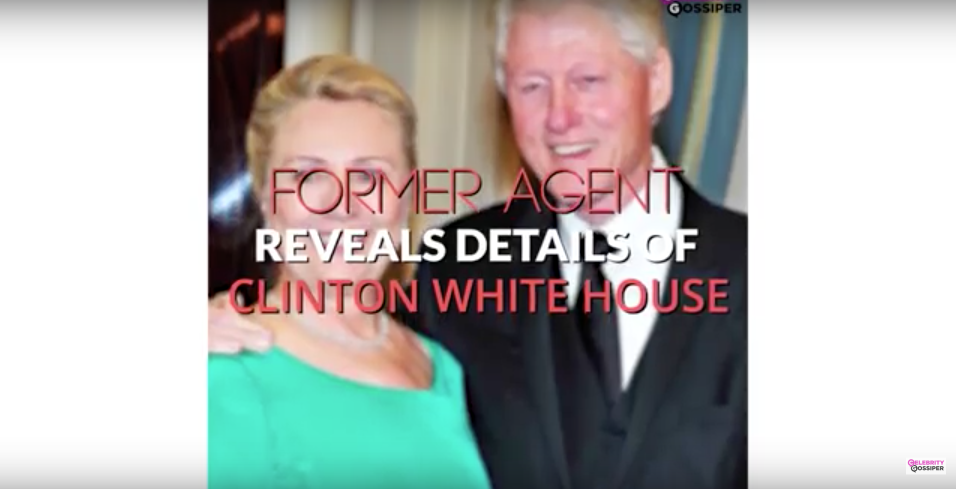 Secret Service Agent Discloses Perverse Acts In White House Bathrooms Under Clinton