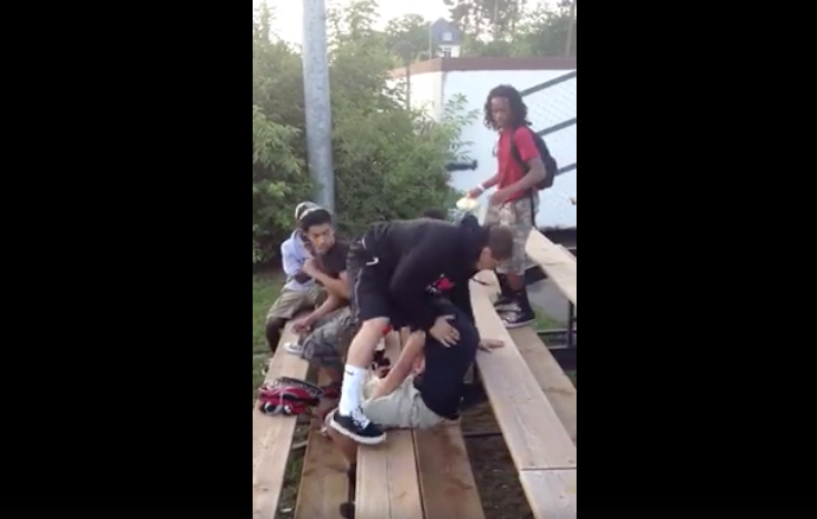 [WATCH] Kid Just Takes Multiple Bully Shots Then Flips A Switch