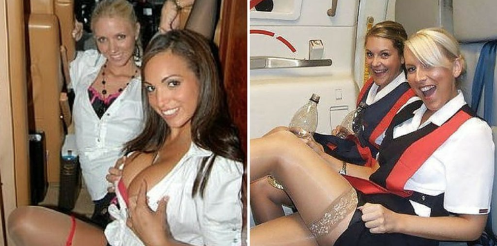 """Flight Attendant FIRED After Posting """"SECRET ROOM"""" Pics On FB - Airlines Don't Want You Knowing THIS…"""