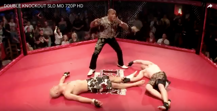 [WATCH] The Most Legendary Double Knockout In MMA History