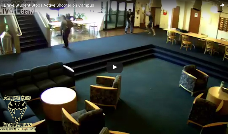 New VIDEO Shows Man Taking School Shooter's Gun, The Returning To Take His Knife