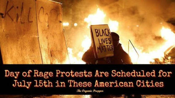 WARNING! Friday Is Black Lives Matter's DAY OF RAGE: Here Is The List Of Places To Avoid At All Costs