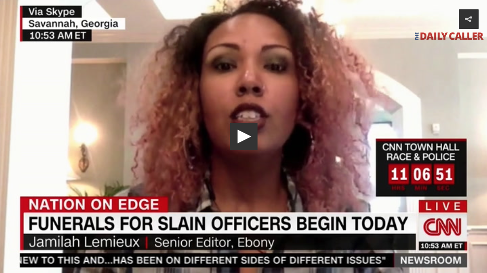 [VIDEO] Ebony Magazine Editor Redefines 'Hate Crimes' - No Whites Or Cops Allowed?
