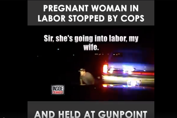 [WATCH] His Wife Was In Labor, So He Sped Up And Called 911, Then The Cops Caught Him...