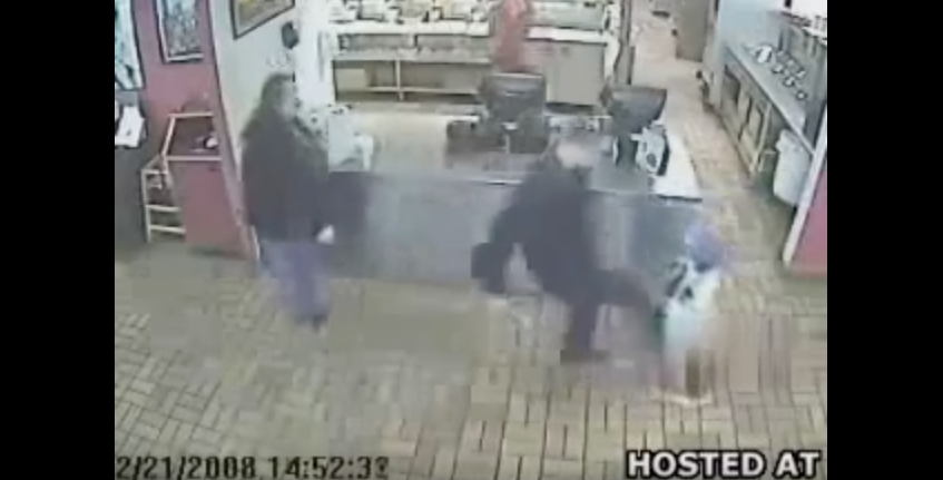 [WATCH] Grown Man Kicks Happy Little Boy And Learns An Immediate, Painful Lesson