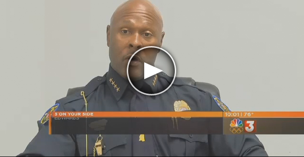 [VIDEO] Black Police Chief Infuriates #BLM, Spends His Own Money Putting New Slogan On Cop Cars