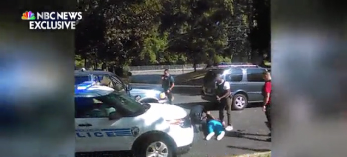 BREAKING: Keith Scott's Wife Releases Her Cellphone VIDEO Of Shooting