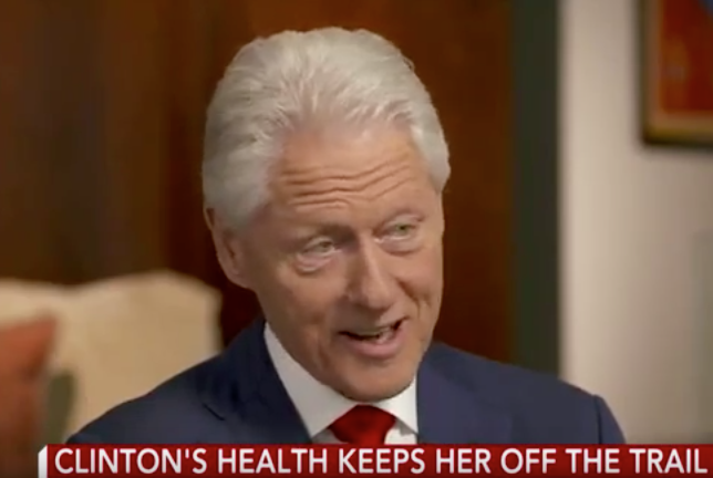 CBS News Edits Out Embarrassing Verbal Slip In Bill Clinton Interview