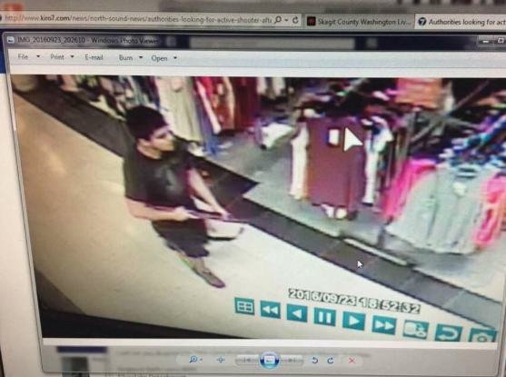 ACTIVE SHOOTER: Police Hunt For Gunman Murderer At Seattle-area Mall