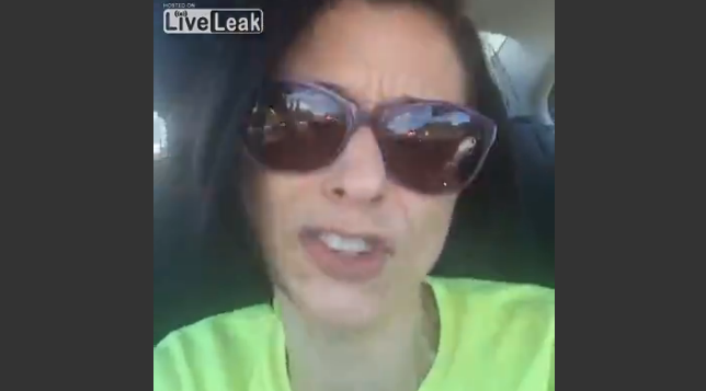 Woman Flips Off 'Redneck' Trump Supporter, Goes Bonkers, Records Everything