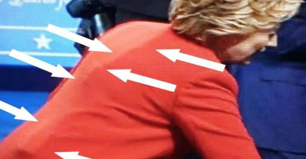 DEBATE CHEATER: MORE Devices Seen In Hillary's Outfit