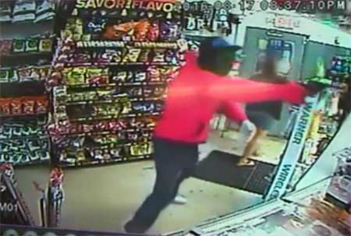 Security Cameras Reveal Just How Fast An Armed Robber Can Run