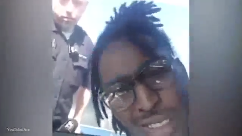 #BLM Thug Druggie Films Traffic Stop, His Own Camera Captures Criminal Stupidity