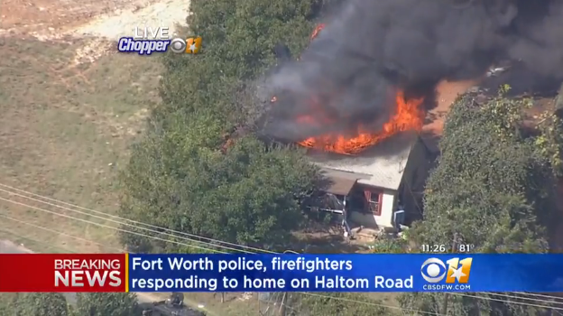 BREAKING: ACTIVE SHOOTER Barricades Victims In House While It Burns