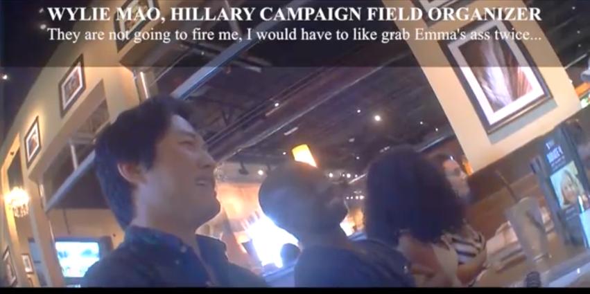 Hidden Camera Reveals Clinton Staffer: 'Grab [Her] By The Ass, Not Get Fired