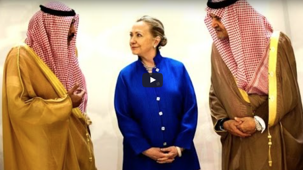 WikiLeaks NUKES Hillary: 'Foreign Govt Donors, All The Money Is In'