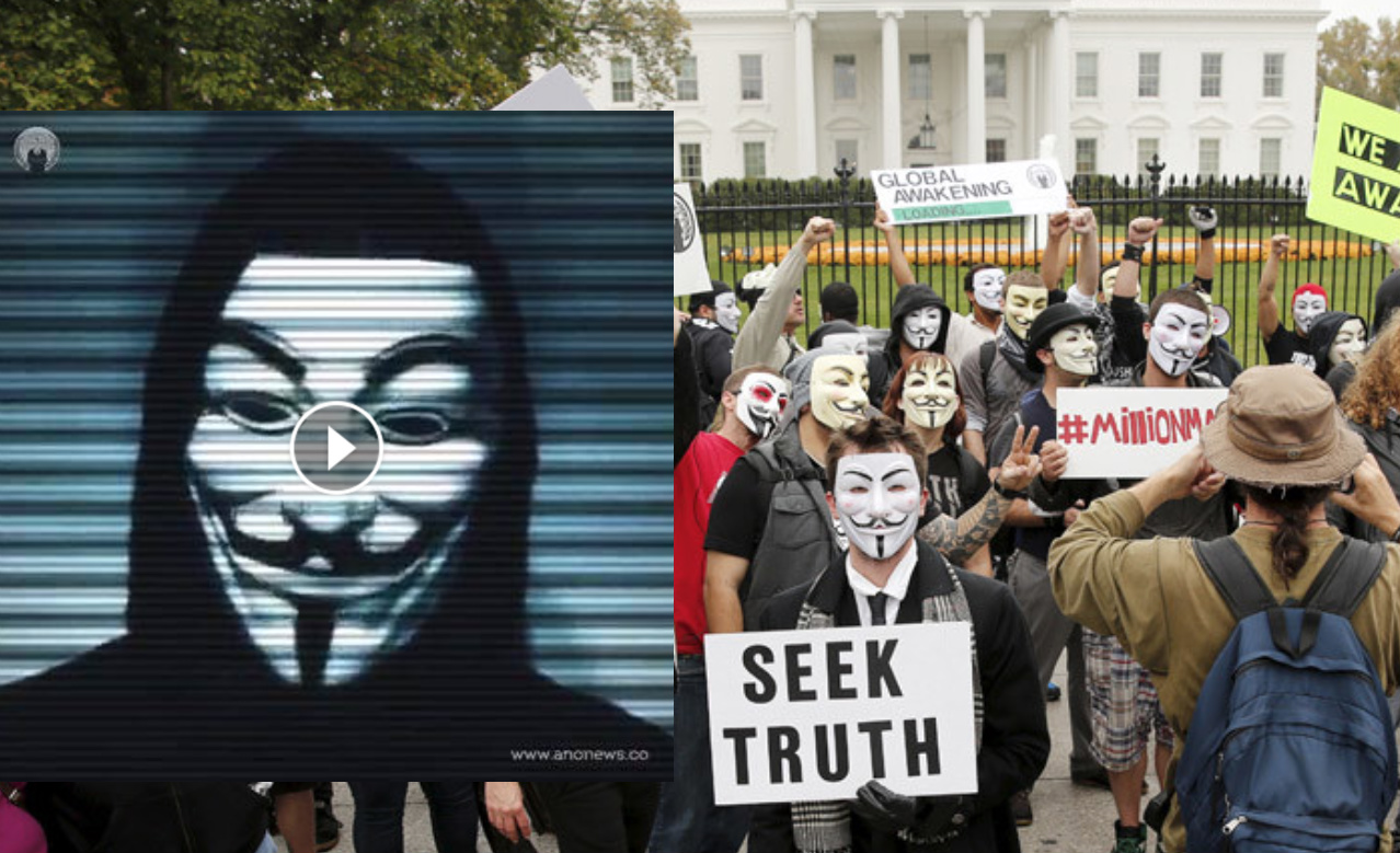 JUST IN: Anonymous Is Marching On Trump Tower To Annihilate 'Status Quo'