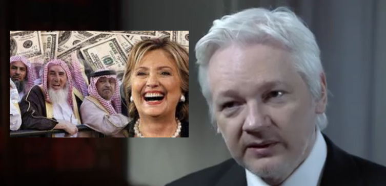 [VIDEO] NEW Assange Interview EXPOSES 'Hillary's War' & Goldman Sachs CORRUPTION
