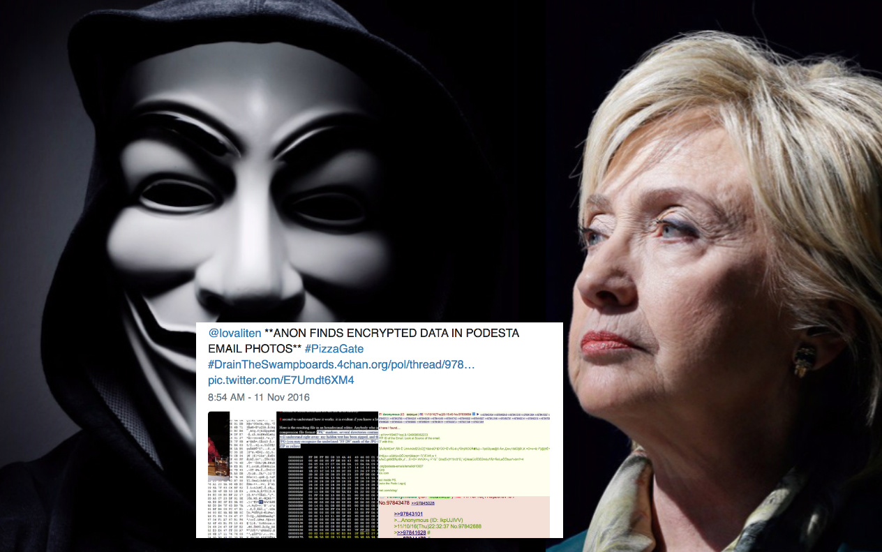ANONYMOUS: 'Encrypted Data Found In Pedestal Email Photos'