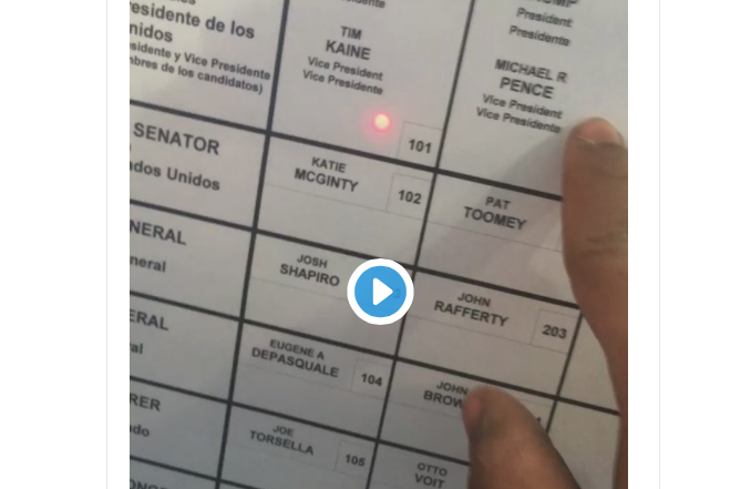 URGENT VIDEO: If This Happens In Your Voting Booth, DEMAND A PAPER BALLOT!