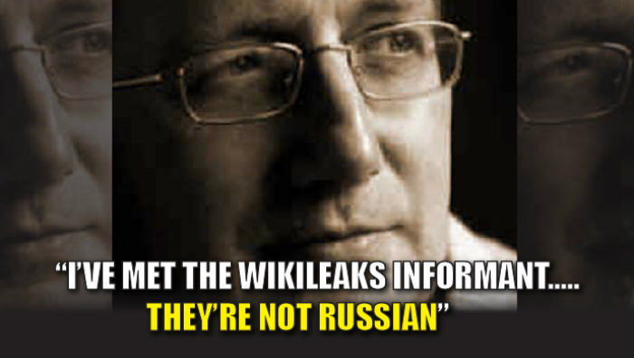 UK Ambassador EXPOSES WikiLeaks, 'I HAVE MET THE INFORMANT AND THEY ARE NOT RUSSIAN'