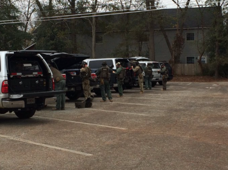 Two Officers Shot, College On Lockdown, Manhunt Underway